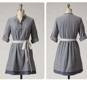 Anthropologie Isabella Sinclair Bespoke Shirtdress
